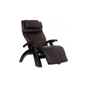 Perfect Chair ® PC-LiVE™ - Espresso Premium Leather - Matte Black