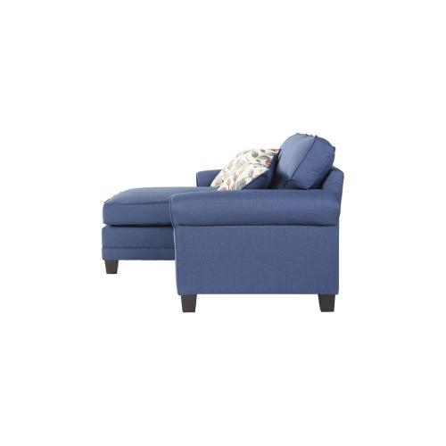 Sofa Chaise - Jitterbug Denim
