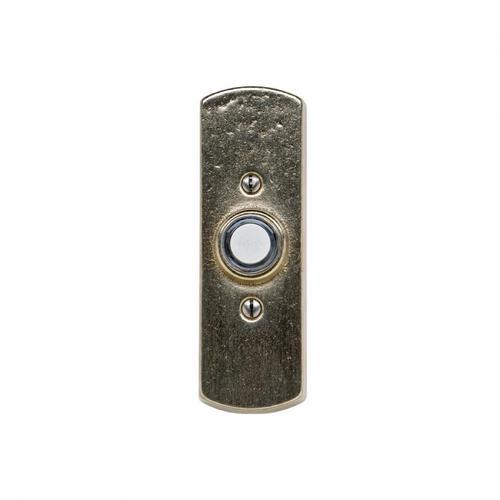 Rocky Mountain Hardware - Curved Doorbell Button Silicon Bronze Dark