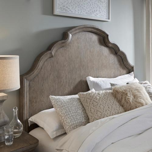 Pulaski Furniture - Bristol Queen Panel Bed Headboard in Elm Brown