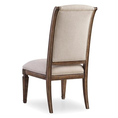 Solana Upholstered Side Chair - 2 per carton/price ea
