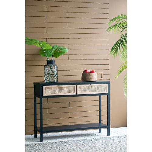 A & B Home - Desk,Black