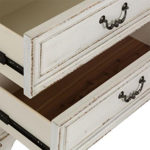 King California Sleigh Bed, Dresser & Mirror, Night Stand