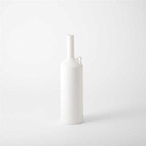 Metro Bottle-Matte White-Squat