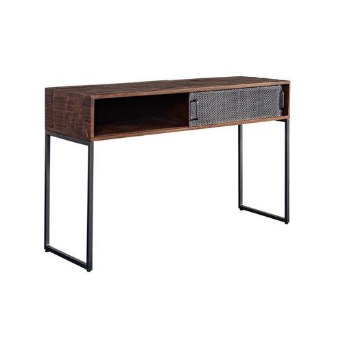 Metropolitan Sliding Door Console Table, 3254-SC