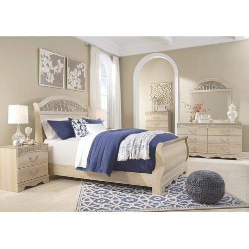 Signature Design By Ashley - Catalina Queen Sleigh Bed