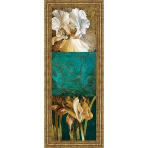 "Classy Art - ""From My Garden Il"" By Linda Thompson Framed Print Wall Art"