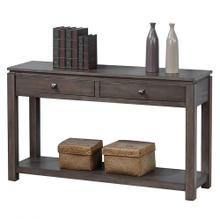Sofa Console w/Drawers and Shelf - Shades of Gray