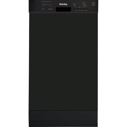 """See Details - Danby 18"""""""" Built-in Dishwasher with Front Controls (Black)"""