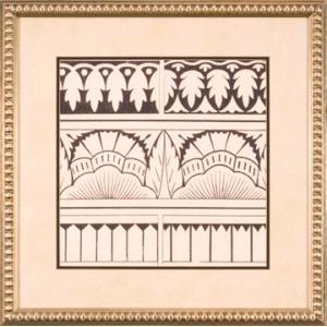 Ornamental Tile Motif Vii