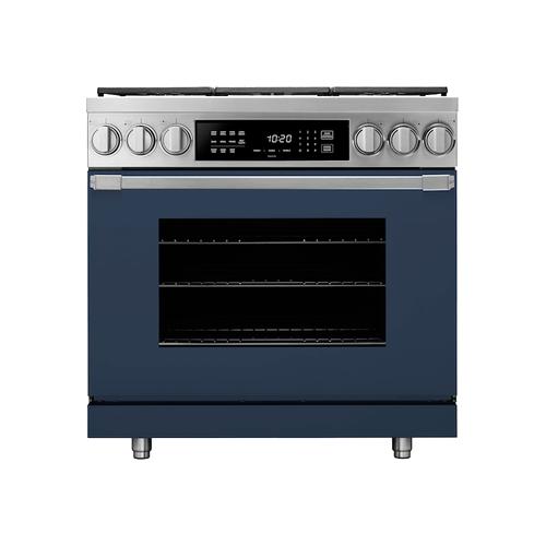 "Dacor - 30"" Double Wall Oven, Dark Denim"