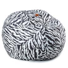 King Chair - Zebra - BlackWhite Zebra
