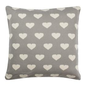 Truelove Knit Pillow - Light Grey / Natural