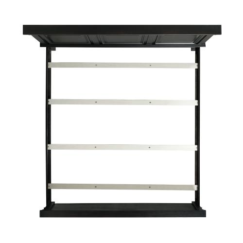 Elements - Calloway King Panel Bed in Antique Black