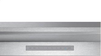 wall-mounted cooker hood, pyramid design 30'' Stainless steel HMCB30WS