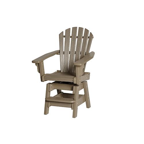 Breezesta - Coastal Swivel Counter Chair