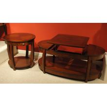 See Details - Oval End Table