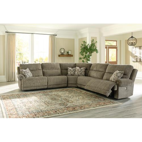 Lubec 5-piece Power Reclining Sectional
