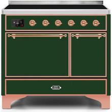 40 Inch Emerald Green Electric Freestanding Range