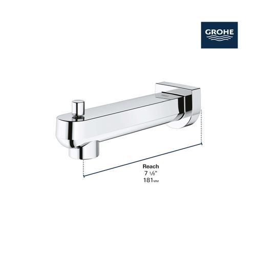 Grohe - Plus Diverter Tub Spout
