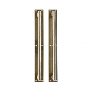 "Metro Pull/Pull Set- 2 1/4"" x 17"" Silicon Bronze Brushed Product Image"