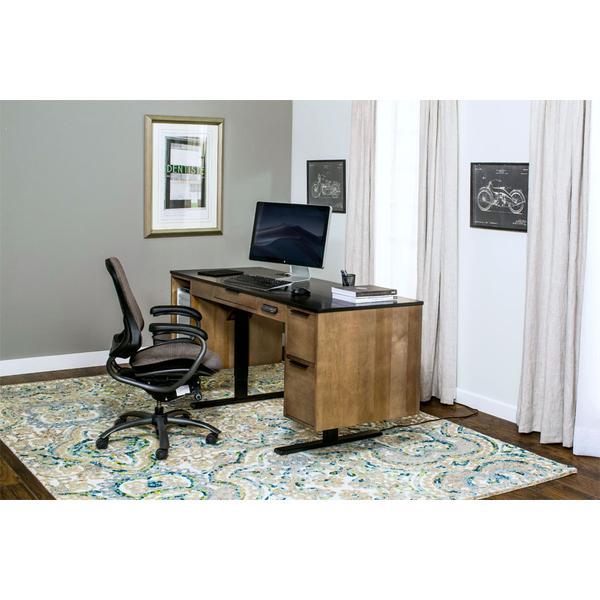 Blocher Lift Desk, Black Base Standard