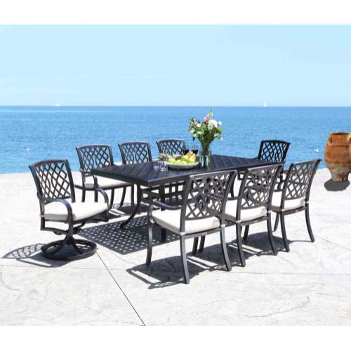 """Hampton 72"""" x 42"""" Rectangular Dining Table"""