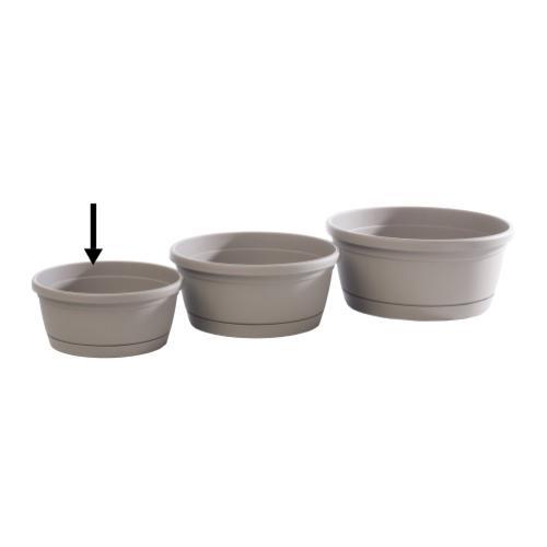 Alfresco Home - Libis Plant Bowl w/ attached saucer, Small