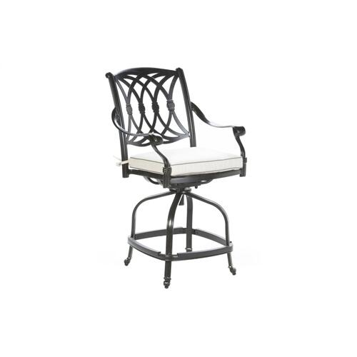 Alfresco Home - Lisbon Gathering Swivel Arm Chair