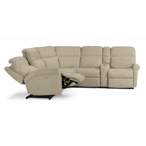 Gallery - Davis Power Reclining Sectional with Power Headrests