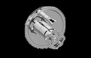 Vintage Pressure Balancing Valve Trim with Handle and Diverter Product Image