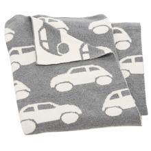 See Details - Herbie Throw - Grey / White