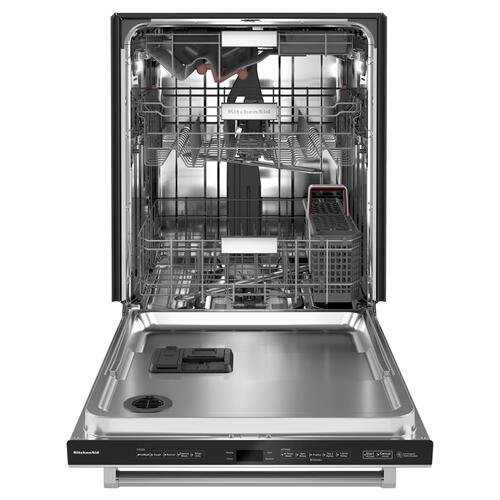 44 dBA Dishwasher with FreeFlex Third Rack and LED Interior Lighting - Stainless Steel with PrintShield™ Finish