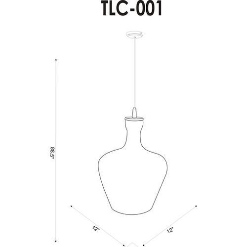 """Surya - Tilloch TLC-001 16""""H x 12""""W x 12""""D"""