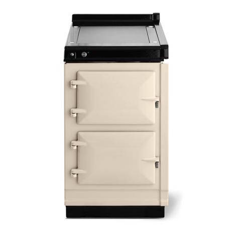 "AGA - AGA Classic 20"" Hotcupboard with Warming Plate, Linen"