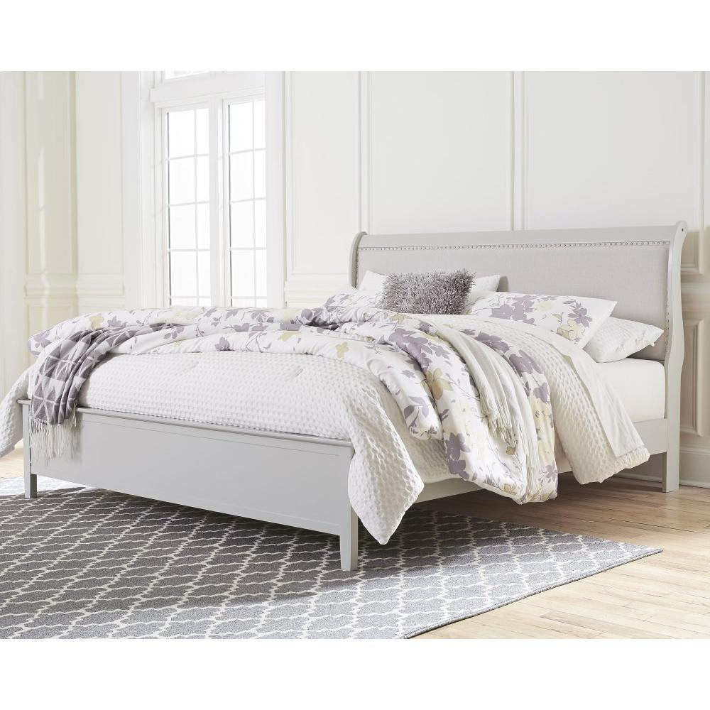 Product Image - King Sleigh Bed With Mattress