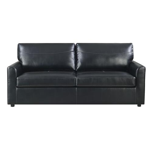 Slumber Queen Sleeper Sofa, Black U3215-50-26