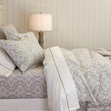 Lennox Duvet Cover & Shams, PEWTER, STAND