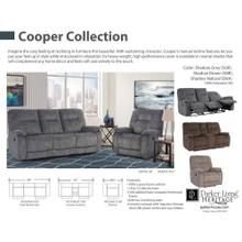 COOPER - SHADOW BROWN Manual Recliner