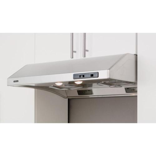 """30"""" Cyclone Undercabinet Hood with 650 CFM Blower Stainless"""