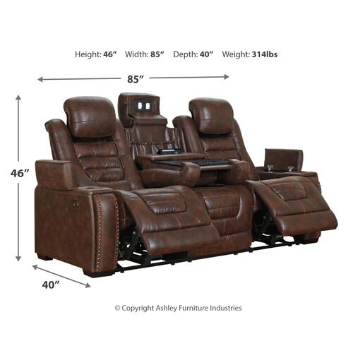 Gallery - Game Zone Power Reclining Sofa