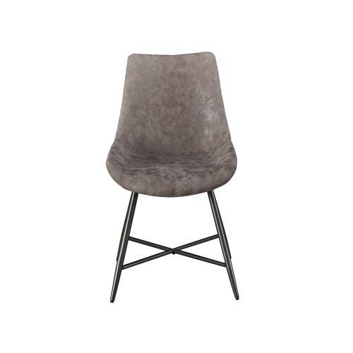 Ramona Brown PU Side Chair