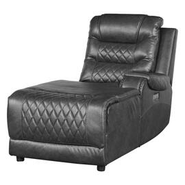Power Right Side Reclining Chaise with USB Port