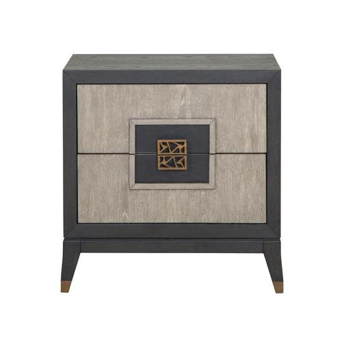 Magnussen Home - Drawer Nightstand (no touch lighting control)