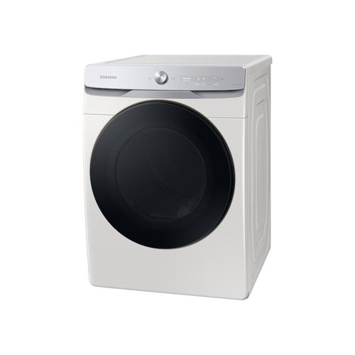 7.5 cu. ft. Smart Dial Gas Dryer with Super Speed Dry in Ivory