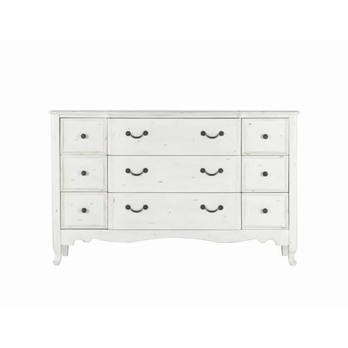 Emerald Home B312-01 Bordeaux Dresser, Antique White