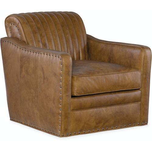 Bradington Young Beth Swivel Tub Chair 8-Way Tie 303-25SW