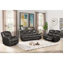 8089 GRAY 3PC Power Recliner Air Leather Living Room SET