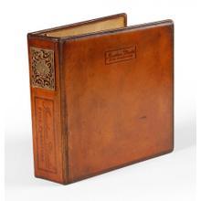 3 ring leather binder (Letter)