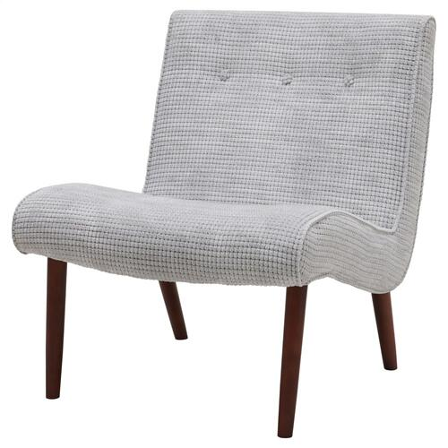 Product Image - Alexis Fabric Accent Chair, Squarespace Gray